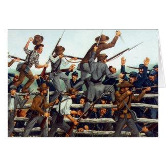 Gettysburg, batalha no cartão de nota 1 do