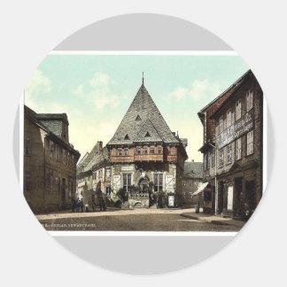 Gewandhaus pano Salão Goslar Hartz cl de Alem Adesivo Redondo