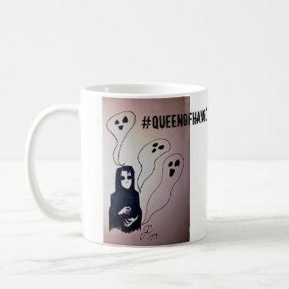 Ghouls e caneca de café dos fantasmas