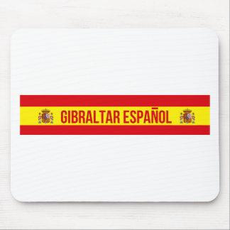 Gibraltar Español - espanhol Gibraltar Mousepad