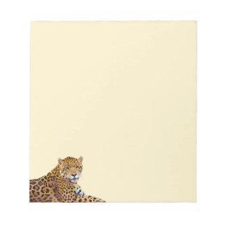 #Gift grande manchado do Gato-amante de Jaguar Caderno De Anotação