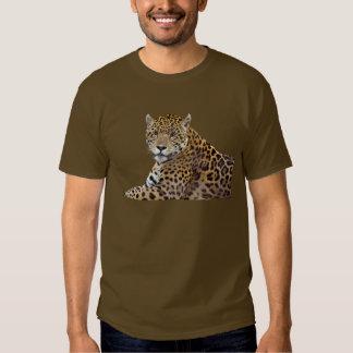 #Gift grande manchado do Gato-amante de Jaguar Camisetas