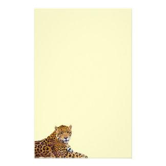 #Gift grande manchado do Gato-amante de Jaguar Papelaria