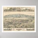 Gilroy: Santa Clara County Califórnia (1299) Posters