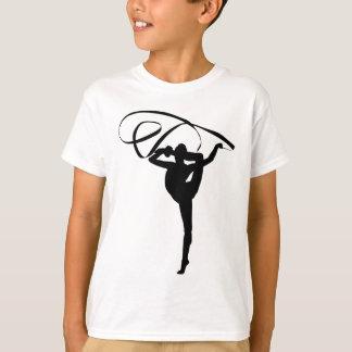Ginástica rítmica - fita camiseta