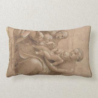 giovannino de san do bebê do col do madonna por almofada lombar