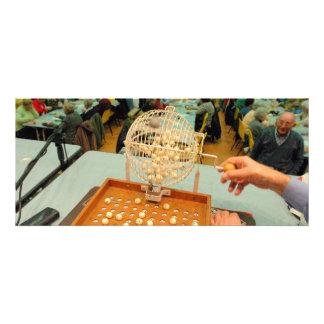 Girador no Bingo Salão