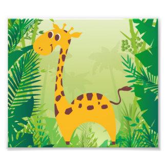 Girafa bonito foto artes