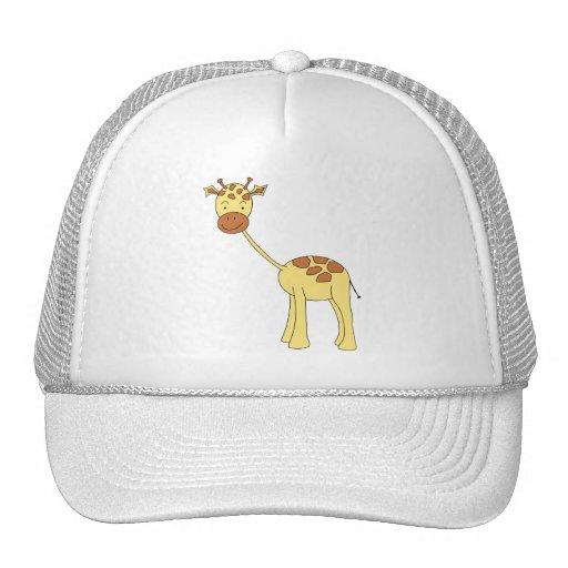 Girafa bonito. Desenhos animados Bone