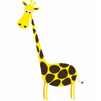 Girafa bonito Skulpture Escultura De Fotos