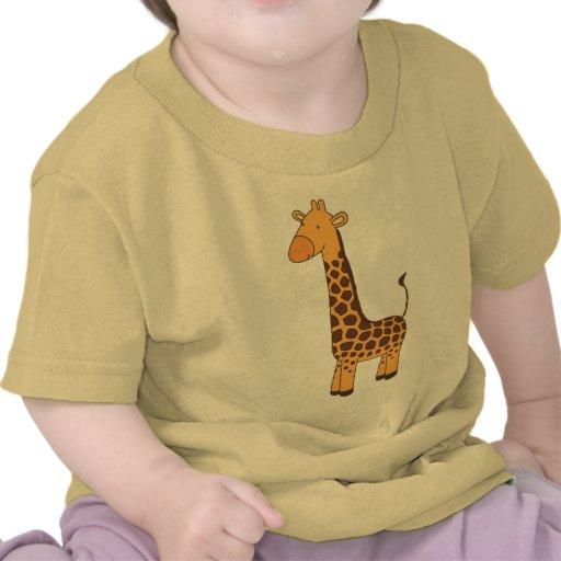 Girafa bonito t-shirts
