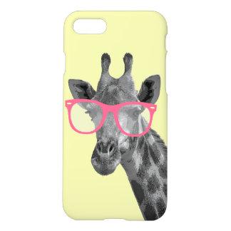 Girafa com capa de telefone engraçada bonito dos