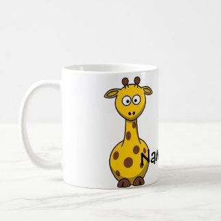 Girafa conhecido caneca de café
