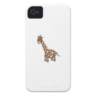 Girafa de Brown Capas Para iPhone 4 Case-Mate