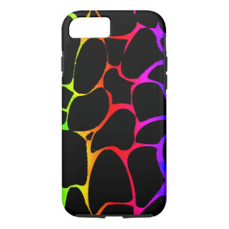 Girafa do arco-íris capa iPhone 8/ 7