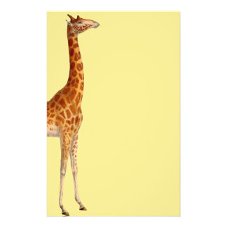 Girafa irresistível papelaria