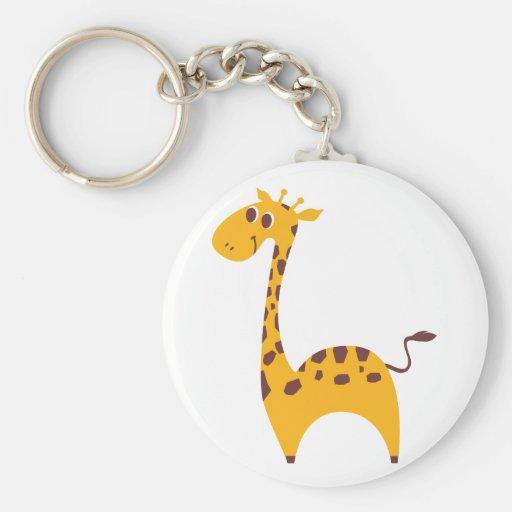 Girafa Chaveiros