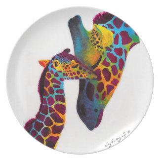 Girafa Prato De Festa