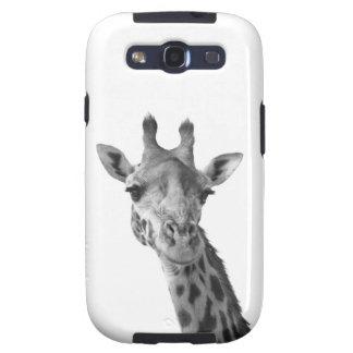 Girafa preto & branco capinhas samsung galaxy s3