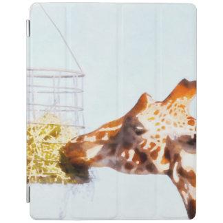 Girafa que alimenta da cesta aérea capa smart para iPad