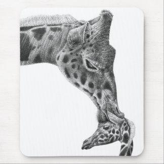 Girafa & vitela Mousepad
