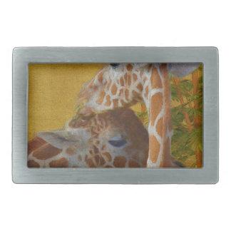 Girafas doces - pintura