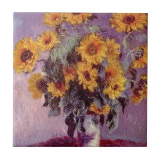 Girassóis de Claude Monet //