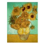 Girassóis de Vincent van Gogh |, 1888 Cartão Postal