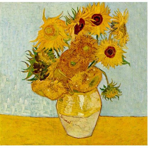 Girassóis de Vincent van Gogh Escultura Fotos