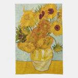 Girassóis de Vincent van Gogh Panos De Prato