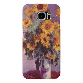 Girassóis por Claude Monet Capa Para Samsung Galaxy S6