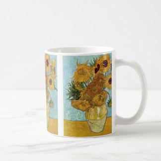 Girassóis por Vincent van Gogh Caneca