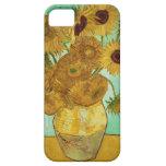Girassóis por Vincent van Gogh Capa Para iPhone 5