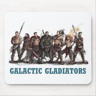Gladiadores galácticos Mousepad