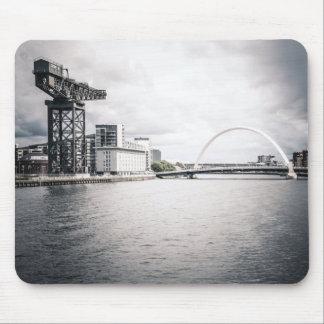 Glasgow Clyde e guindaste Mousepad