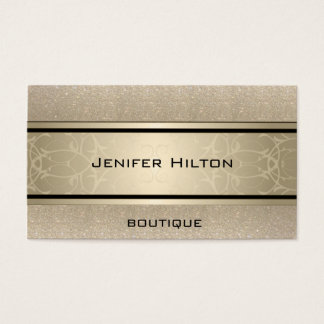 Glittery luxuoso moderno elegante profissional cartão de visitas