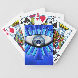 Globellinossa V1 - olhos triplos Jogos De Baralhos