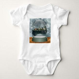 Globo da neve da ilha do providência body para bebê