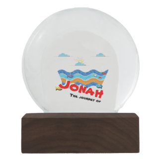 Globo De Neve A viagem de Jonah