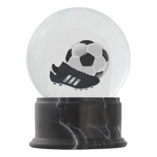 Globo De Neve Bola e calçados de futebol