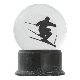 Globo De Neve Esquiador