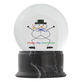 "Globo De Neve ""Gelado globo da neve do boneco de neve"""