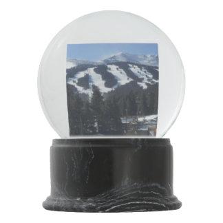 Globo De Neve Globo da neve da área do esqui de Breckenridge