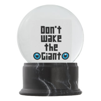 Globo De Neve Não acorde o gigante