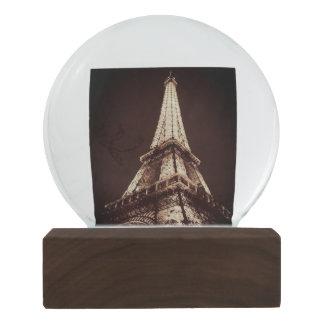 Globo De Neve Para o amor de Paris - torre Eiffel Snowglobe