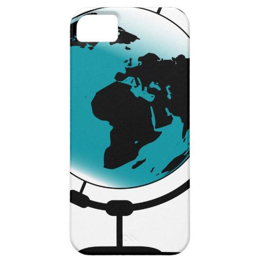 Globo montado no giro de giro capas para iPhone 5