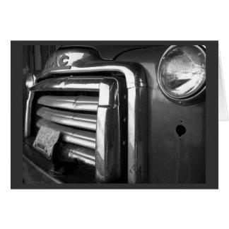 GMC que cultiva o caminhão Cartão Comemorativo