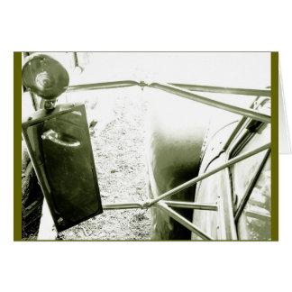 GMC velho que cultiva o caminhão Cartão Comemorativo