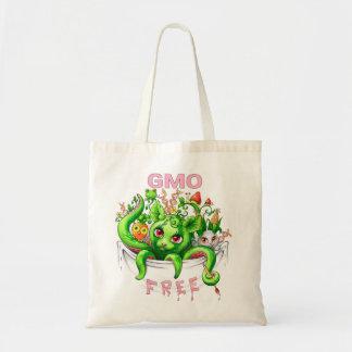 GMO livre (organismos genetically alterados) Sacola Tote Budget