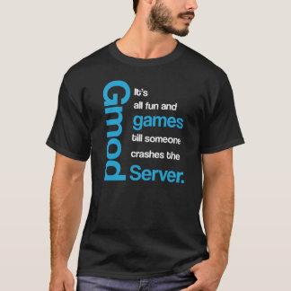 Gmod todas as camisetas engraçadas do divertimento